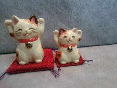 画像3: 福々両手招き猫(チビ)