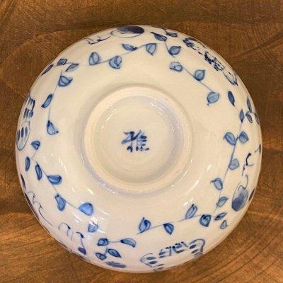 画像2: 九谷焼 茶碗(染付)